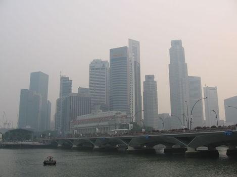 Sudu Singaporis metsapõlengute ajal