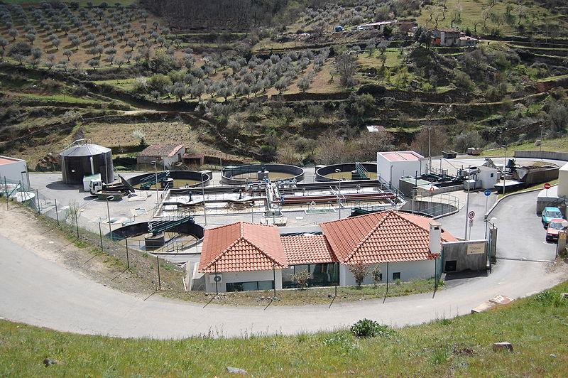 Veepuhastusjaam Portugalis
