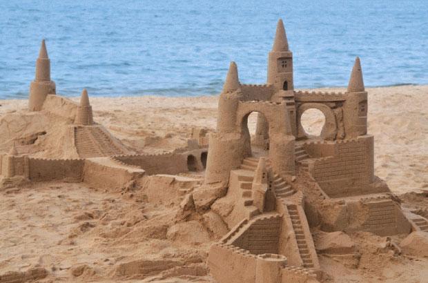 Liivast valmistatud loss.