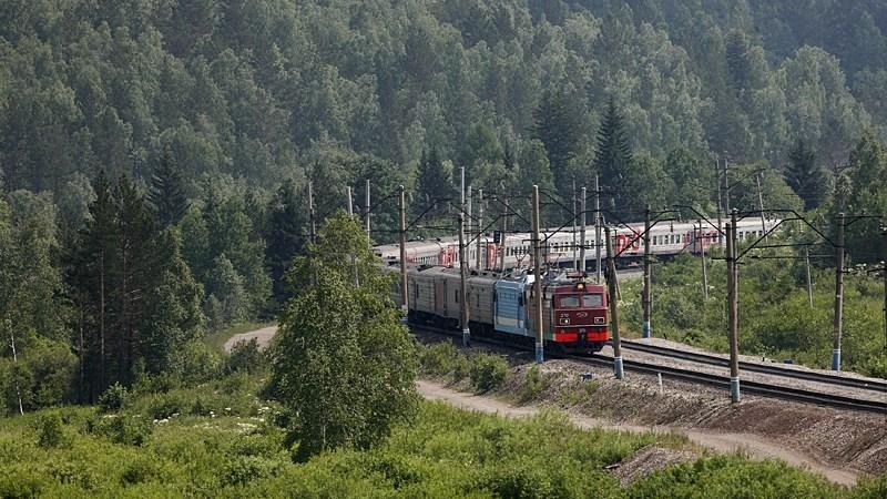 Siberi raudtee.