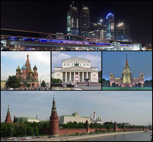 Moskva vaatamisväärsused.