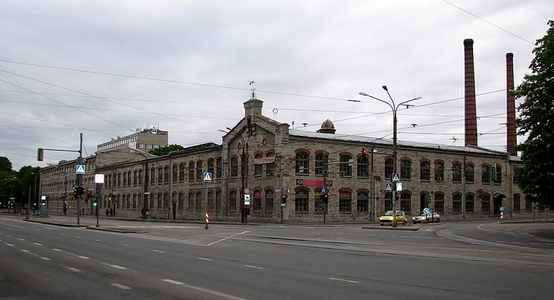 Lutheri vabrik Tallinnas.