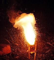 Raud(III)oksiidi reageerimine alumiiniumiga – raua saamine aluminotermiliselt