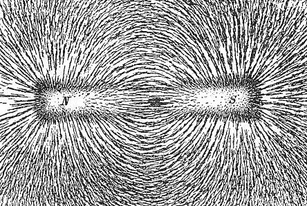 Rauapuru tõmbumine magneti külge