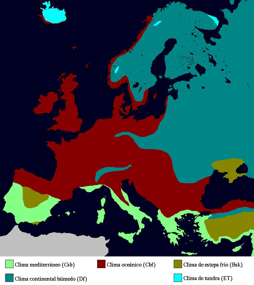 Euroopa kliimakaart