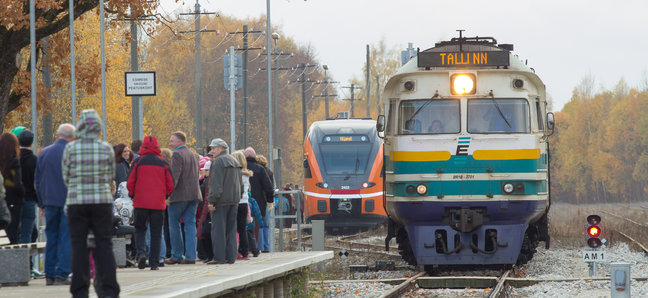 Uus ja vana rong