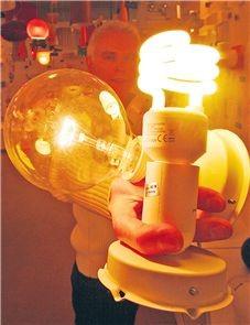 Elektrienergia muundub valguseks