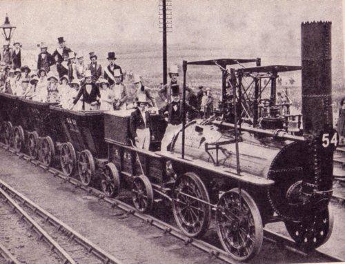 Maailma esimene raudtee Suurbritannias