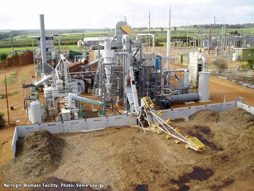 Biomassi energiajaam