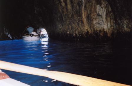 Sinine koobas Capri saarel