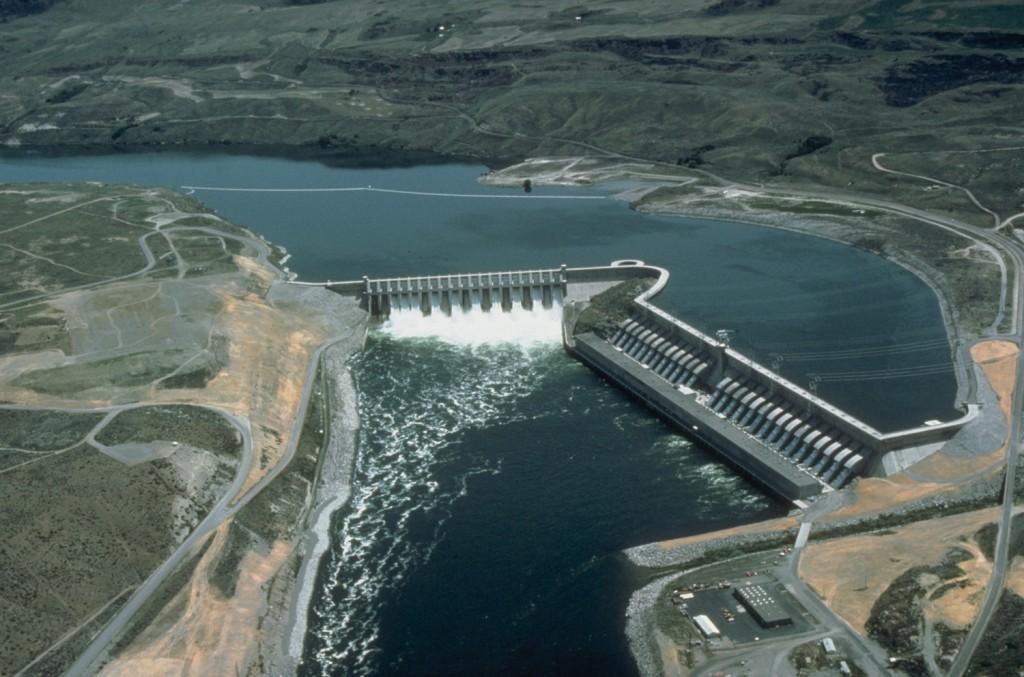 Hüdroelektrijaam Columbia jõel (Chief Joseph Dam)