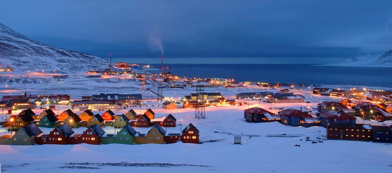 Maailma põhjapoolseim asula Longyearbyen.