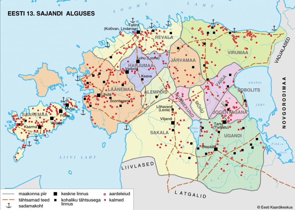 Eesti 13 sajandi alguses