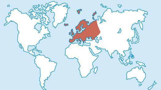 Euroopa maailmakaardil