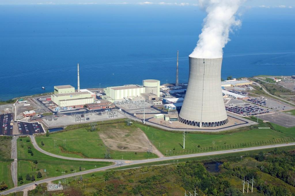 Tuumaelektrijaam koos jahutuskatlaga