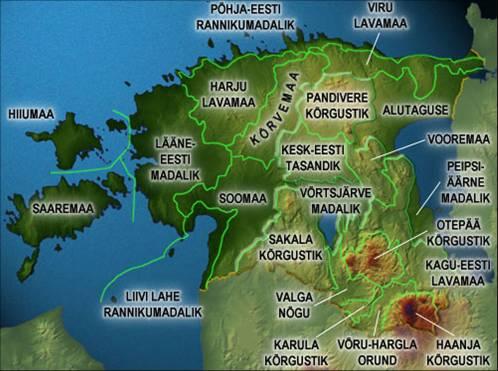 Eesti maastikud