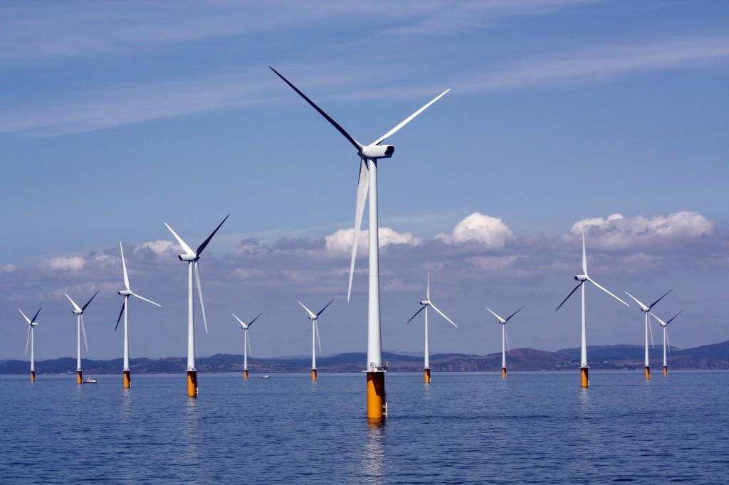 Tuulepark meres