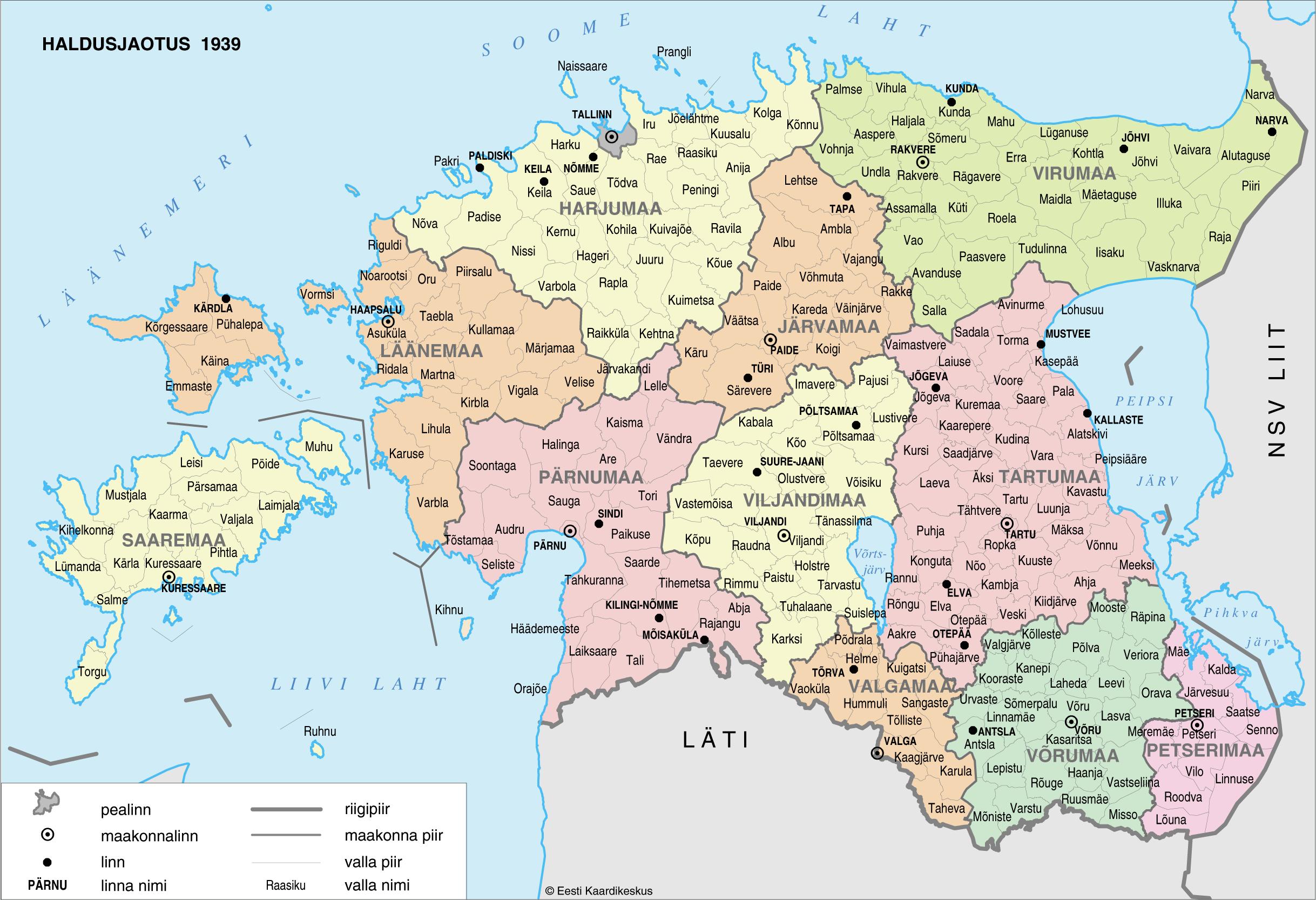 Eesti Maakondade Kaart
