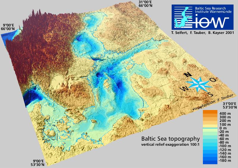 Läänemere topograafia
