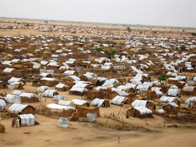 Zamzam pagulaslaager Darfuris