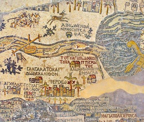 Antiikne Jeeriko kaart