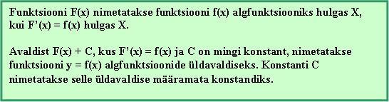 Algfunktsioon5