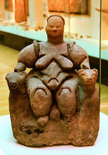 Goddess-catal-huyuk
