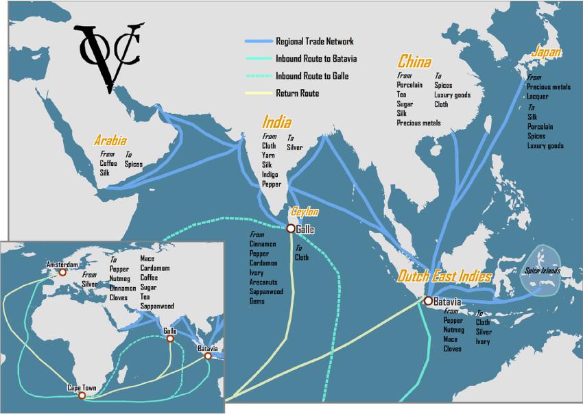 Kaubavedude kaart