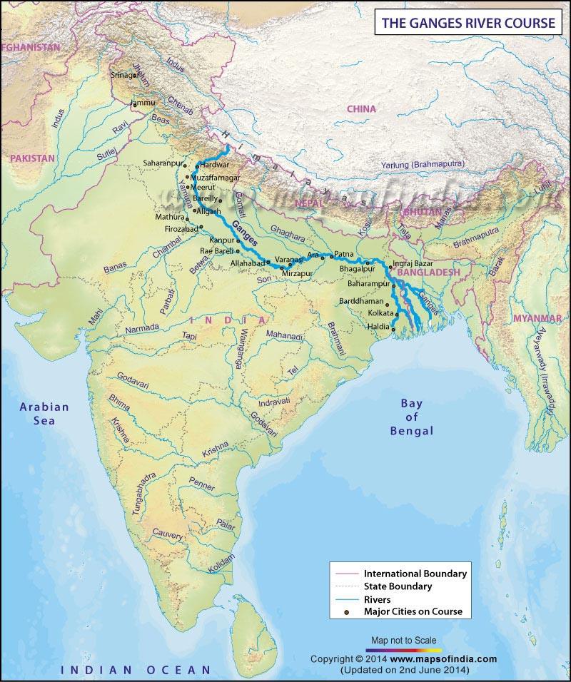 Gangese jõe teekond