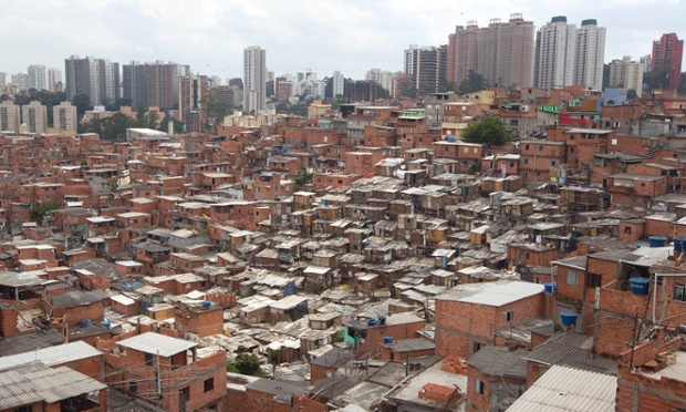Slumm Sao Paulo kesklinna ääres