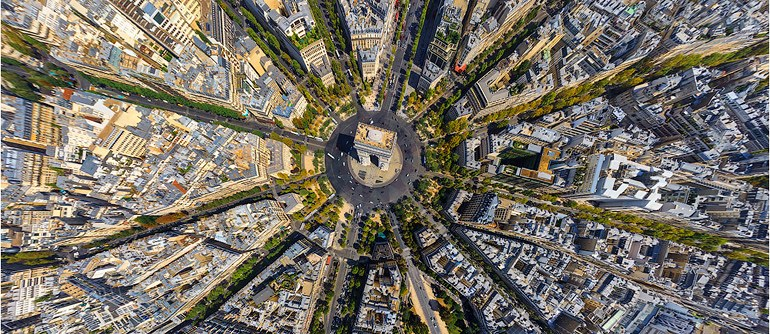 Ühe keskusega sektormudel (Pariis)