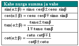 trigonomeetria5