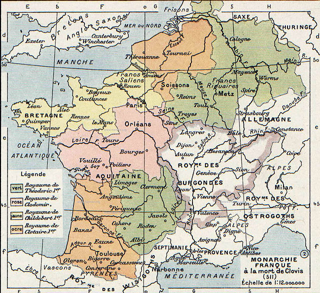 Frangi riigi tõus1