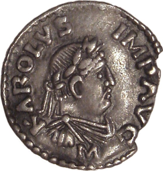 Karolingide münt