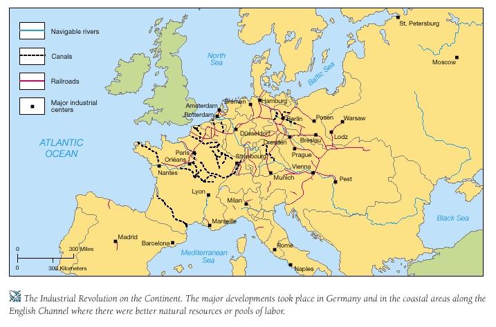 europeindustrialrevolution1800