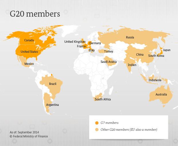 G20 liikmesriigid