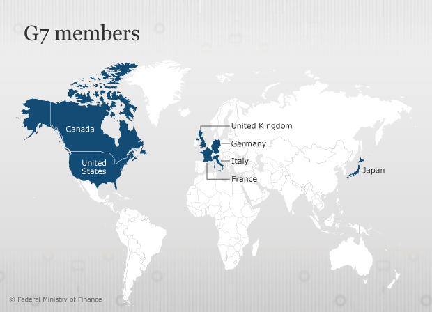 G7 liikmesriigid