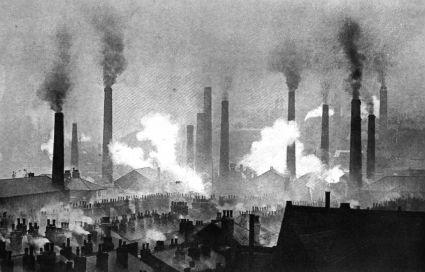 Kivisöe põletamisel tehastest väljuv toss