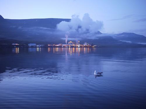 Maapõueenergial töötav alumiiniumi sulatamise tehas Islandil