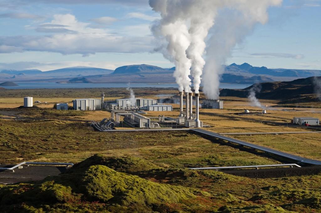 Geotermaaljaam Islandil