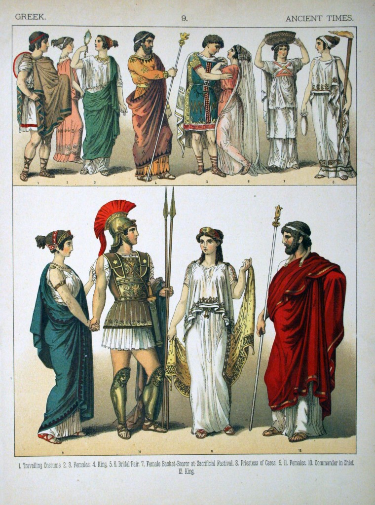 vana-kreeka riietus