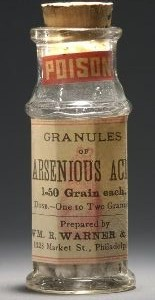 Arseenhape on mürk