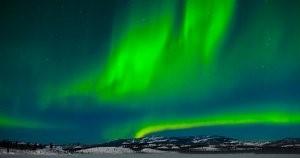 Virmalised: ergastatud hapniku aatomid kiirgavad rohelist valgust