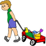 pull a wagon