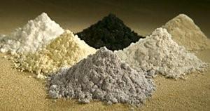 Haruldased lantanoidide mineraalid