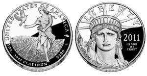 Platinum mündid