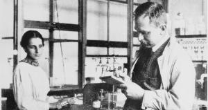 Lise meintner ja Otto Hahn laboratooriumis