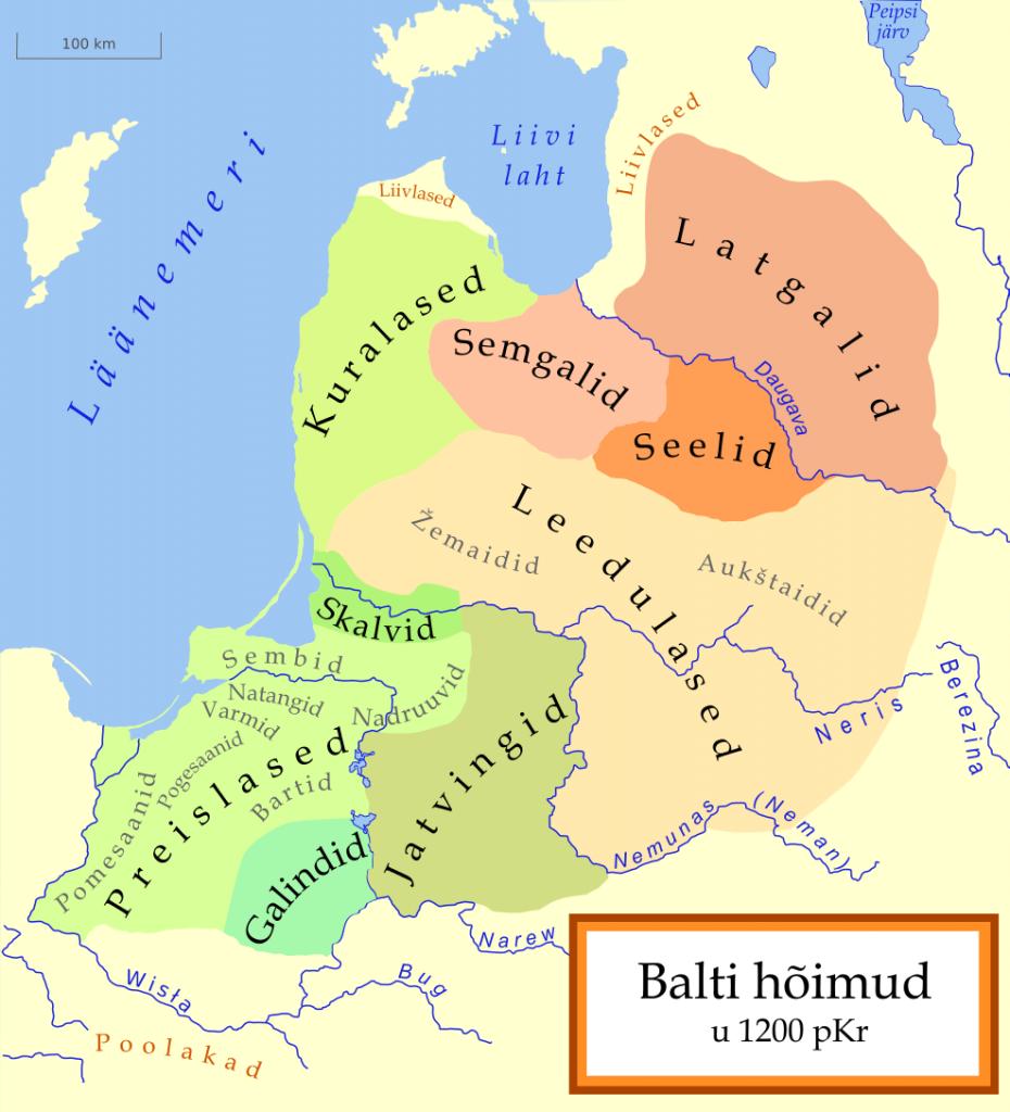 Balti hõimud 1200