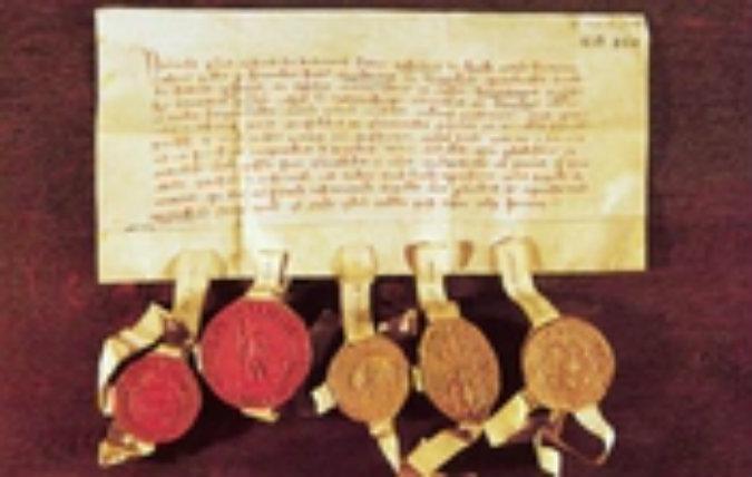 Tallinna privileegide kinnitamine Saksa ordu poolt