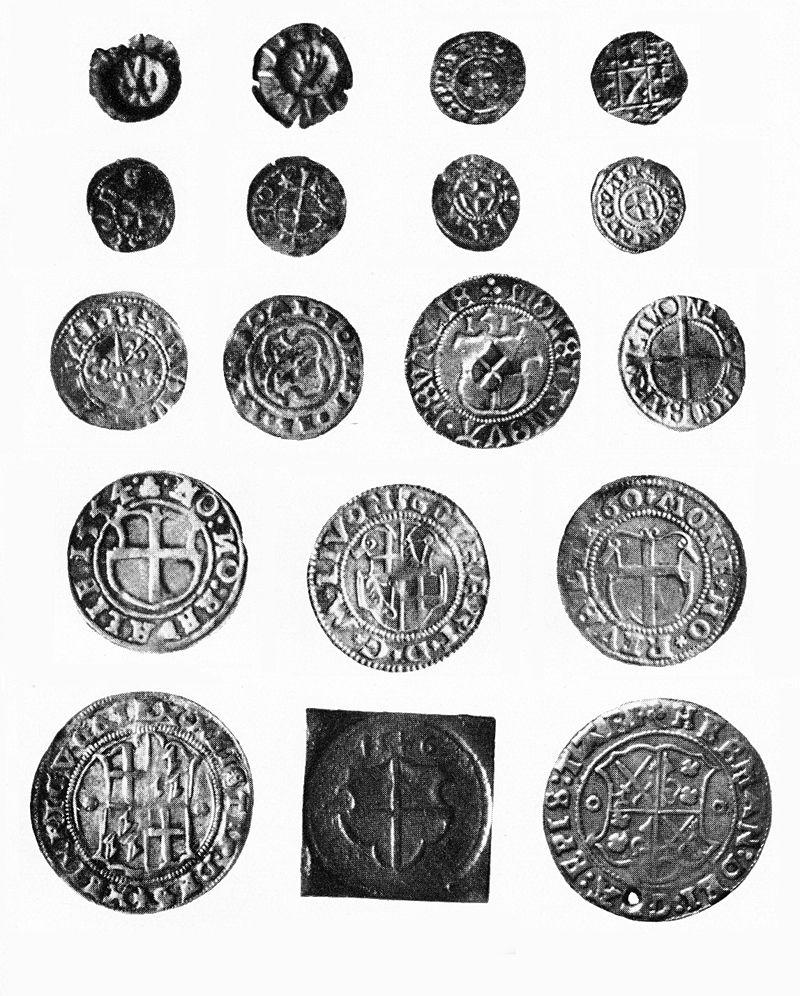 Liivimaa mündid 15.-16.sajandil